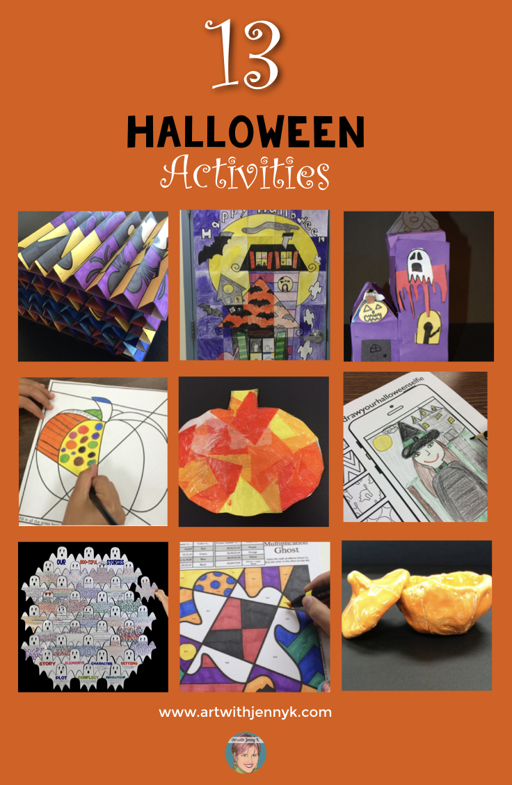 Halloween Art Lessons For Your Students Something For Everyone