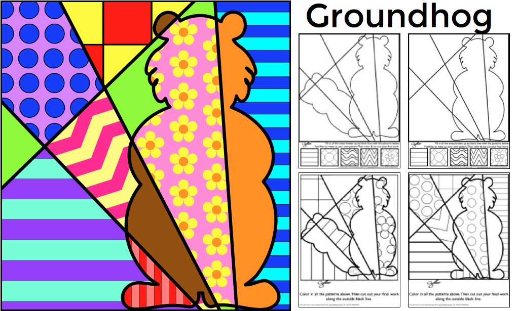 - Groundhog Day FREE Coloring Sheet - Art With Jenny K