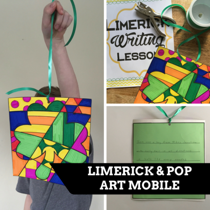 Limerick and Pop Art Mobile. FREEBIES