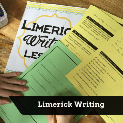 St. Patrick's Day Limerick writing FREEBIE.
