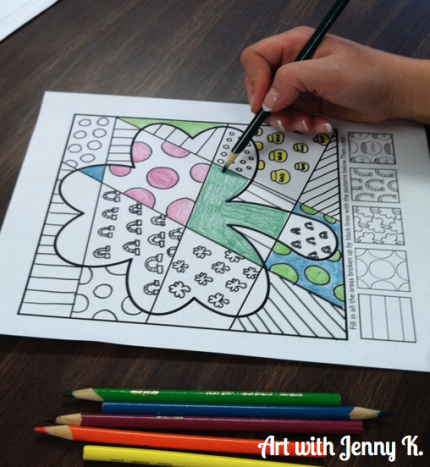 St Patricks Day Art Projects For Elementary