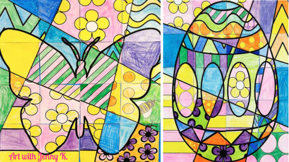 Featured 5 Spring Projects: Spring Art Integration Lessons!