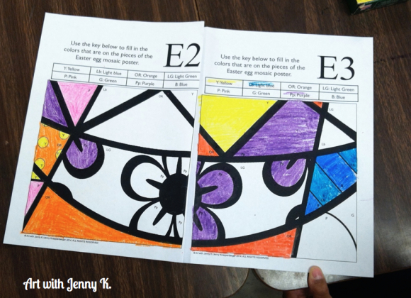 Collaborative posters for easter and spring