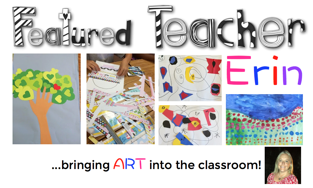 Real techers making art in the classroom!