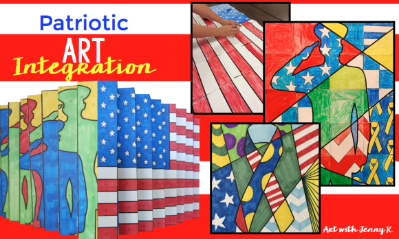 Memorial day, veterans day, patriotic art projects for kids.