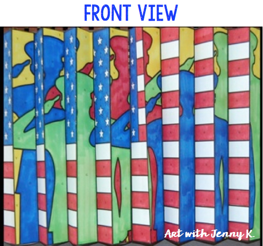 Memorial Day Art With Jenny K