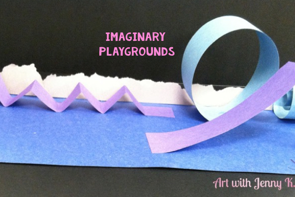 STEM Activities for kids: Imaginary playgrounds