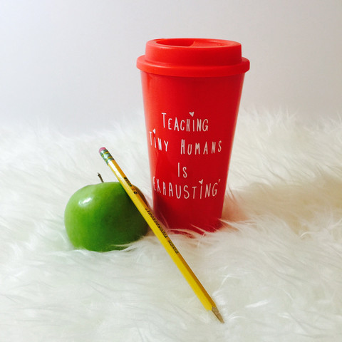 10 teacher gift ideas for the holidays. Coffee mug.