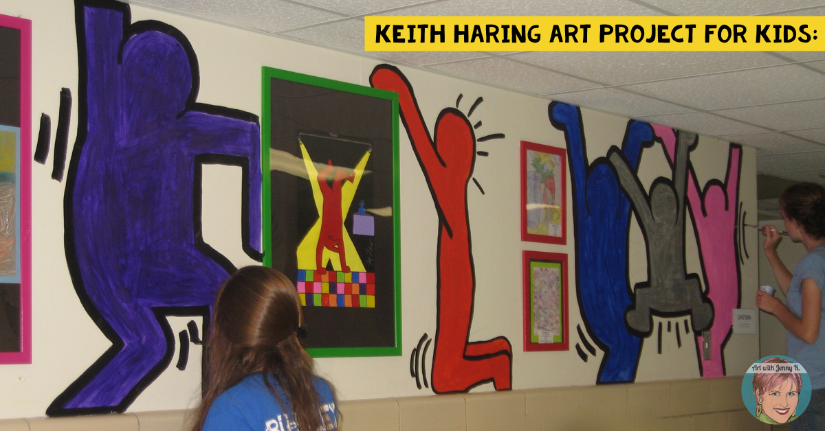 Keith Haring Art Project For Kids