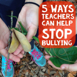 5 Ways Teachers Can Help Stop Bullying.