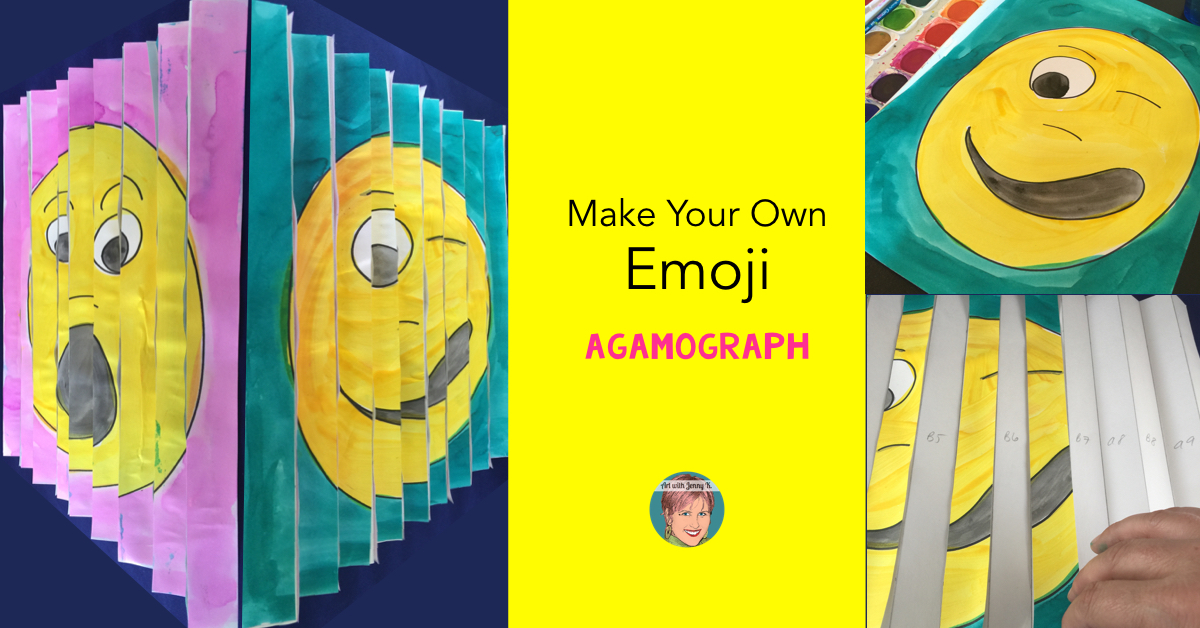 Make Your Own Emoji Agamograph Art With Jenny K