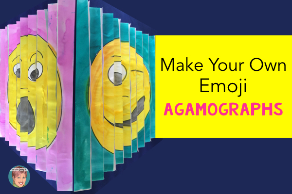 How to make your own emoji agamograph step-by-step instructions.