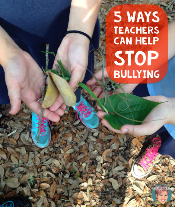 5 Ways Teachers Can Help Stop Bullying. Including suggestions for books, activities and art lessons.