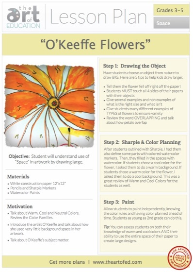 O'Keeffe Project from Artofed.com