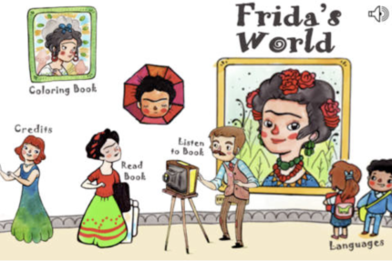 Frida's world app.