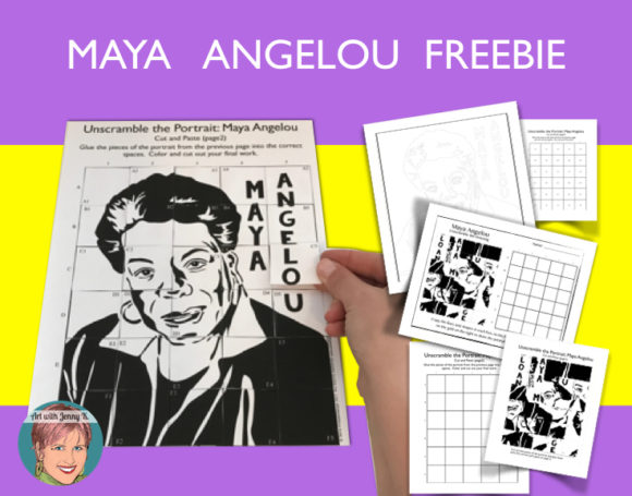 Maya Angelou FREEBIES!