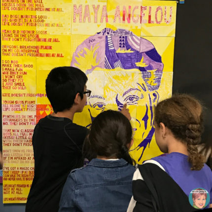 Maya Angelou Activities: Poet Study & Art Project