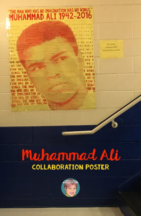 Muhammad Ali art infusion project for teachers and students. A great way to honor a great man in your class.