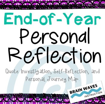 End of the Year personal reflection