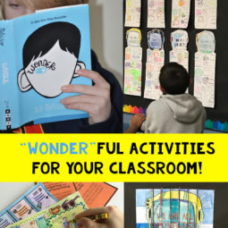 "Wonder activities for the classroom that are ""wonder"" ful!"