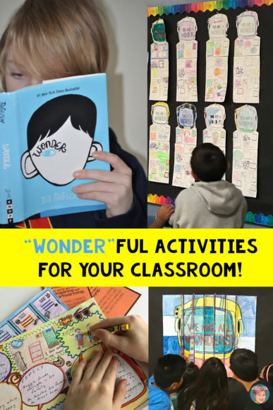 "Wonder Activities for Your Classroom that are ""Wonder"" ful and Kind!"
