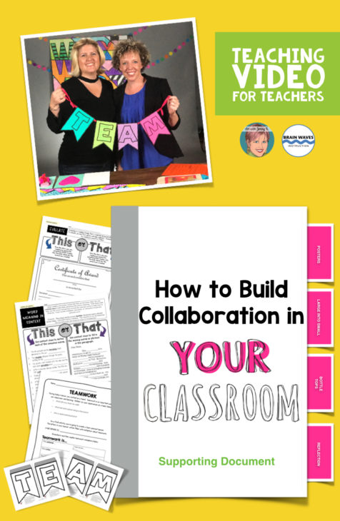 Lots of great ideas for how to build collaboration in the classroom - YOUR classroom!