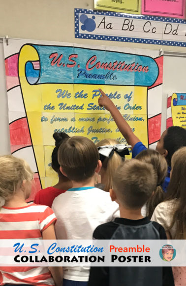 Constitution Day Activity | Collaboration Poster