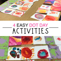 4 Easy and Fun Dot Day Activities for Teachers and students.