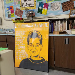 Remembering Ryan White Collaborative Poster