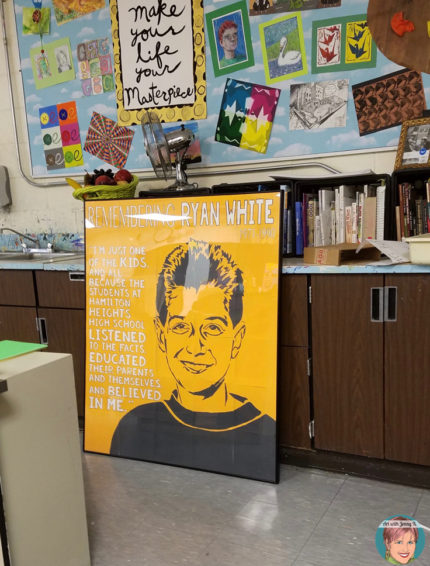 Remembering Ryan White Collaboration Poster