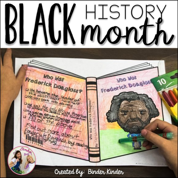 Binder Kinder - Black History Month Project!