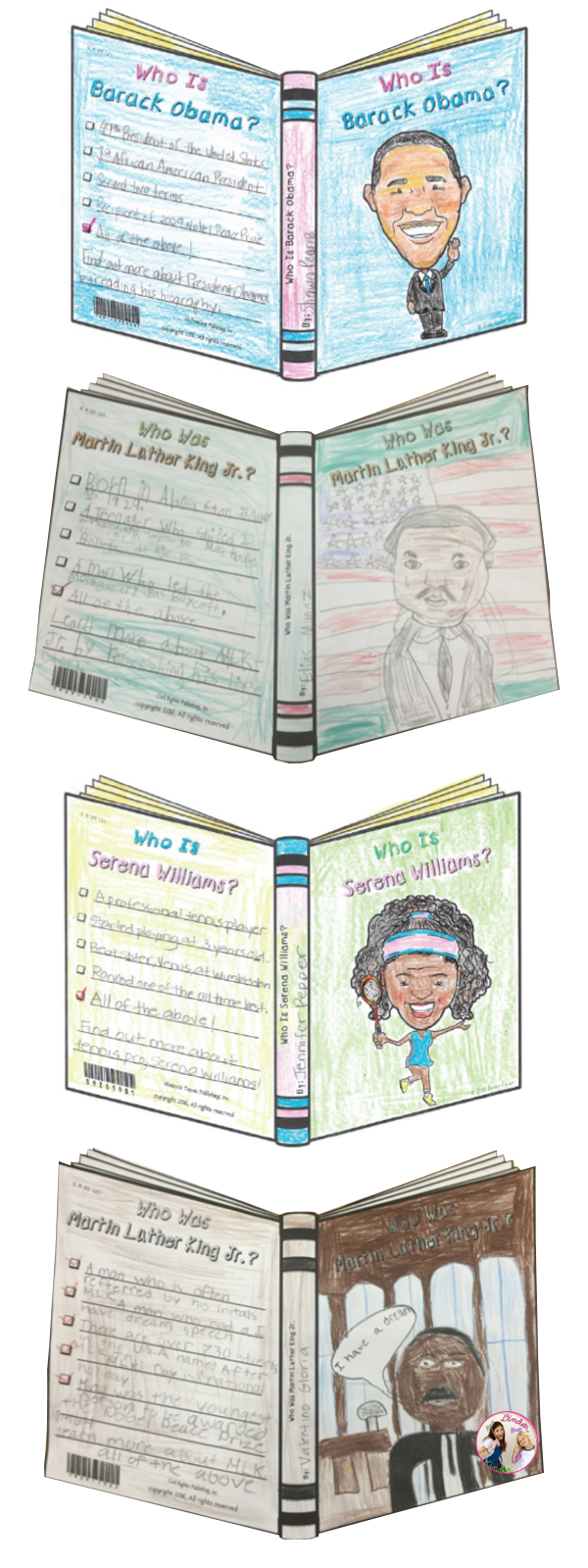 Binder Kinder Black History Month