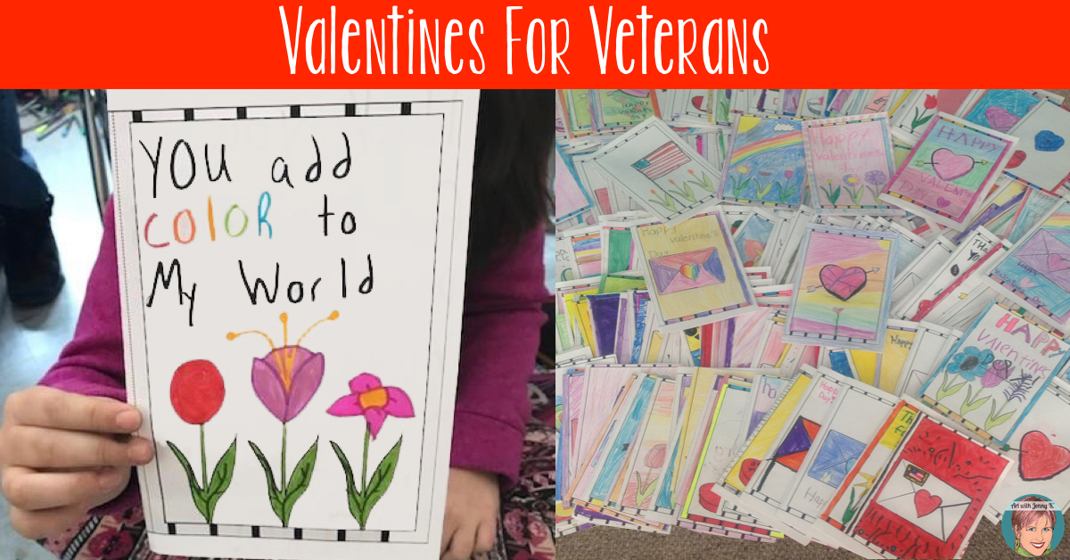 Valentines For Veterans Art With Jenny K