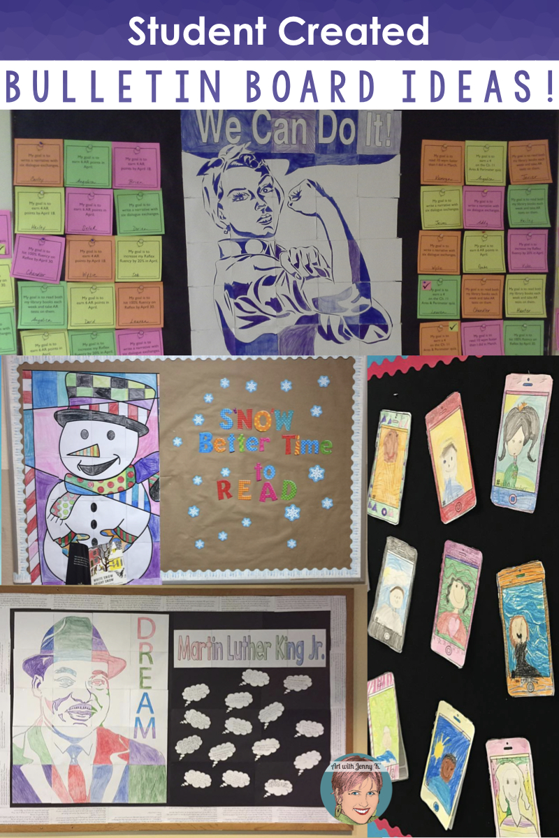 Student Created Bulletin Board Ideas Art With Jenny K