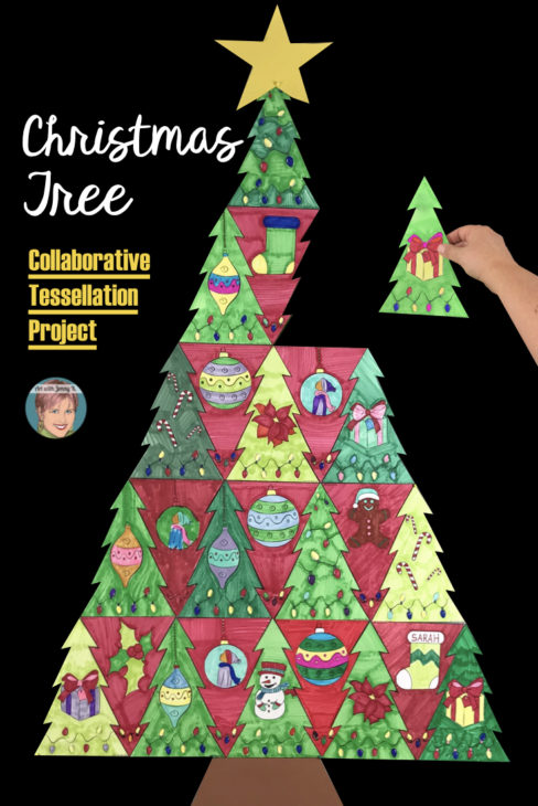 contemporary and fun christmas art projects for your classroom art with jenny k