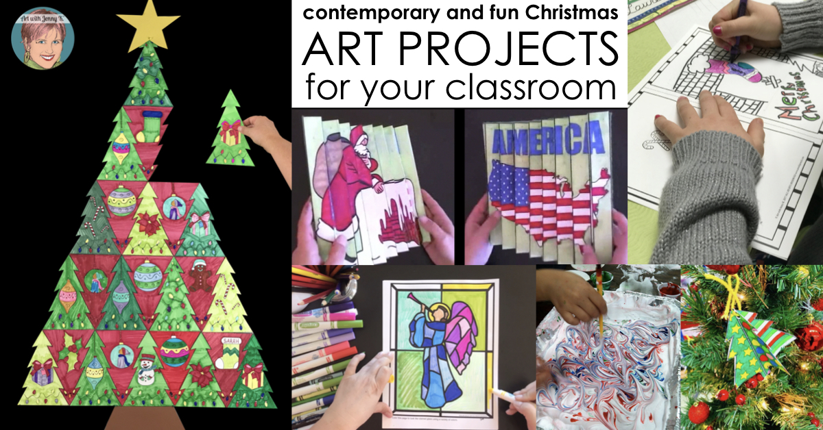 Contemporary And Fun Christmas Art Projects For Your Classroom